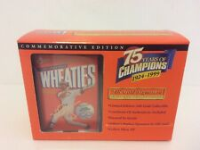 Wheaties Mark McGwire 75th Collectibles 24K Gold Signature Mini Box 1999
