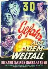 GEFAHR AUS DEM WELTALL Jack Arnold REPRO des Dt. Originals von 1953 A1 gerollt