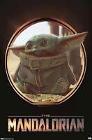 "The Mandalorian ( 11"" X 17"") Baby Yoda Poster  DISNEY STAR WARS The Child"