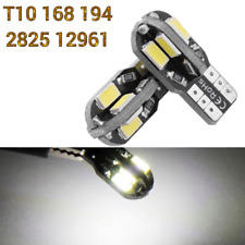 T10 W5W 168 194 2825 12961 6 SMD Reverse Backup Light White Canbus LED M1 A