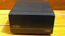 ortofon T-1000 STEP UP TRANSFOMER FOR LOW MC CARTRIDGE PERFECT FOR SPU CARTRIDGE
