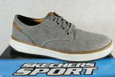 Skechers Men's Trainers Sports Shoes Grey New