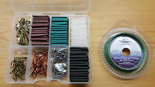 33lb pike & jeu de pêche trace making Kit.300 pièces + une section 10 tackle box