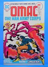 OMAC (One Man Army...Corps) #4 of 8 1974/1975 DC Comics JACK KIRBY-w,a,c,e