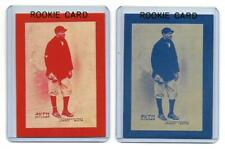 Babe Ruth Rookie Baseball Card - 1914 Baltimore News RP - Blue or Red Border