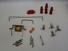WILLIAMS GORGAR PINBALL MACHINE COMPONENTS LOT SPINNER TARGET WIRE GUIDES POSTS