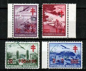 Yugoslavia 1940 ☀ fight against tuberculosis Mi.429/432 ☀ 4v used