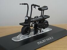 ALTAYA IXO ITALJET PACK 2 PIAGGIO BLACK SCOOTER BIKE MODEL MD029 1:18