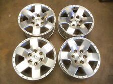 07-10 Toyota FJ Cruiser 17x7.5 Alloy Wheel OEM 6 Spoke FULL SET WITH CAPS