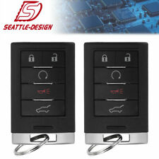 2 for Cadillac 2010-2015 SRX 2013-2014 ATS XTS Keyless Entry Remote Key Fob
