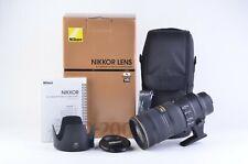 MINT BOXED USA NIKON AF-S NIKKOR 70-200mm f2.8G ED VR II N LENS. BARELY USED