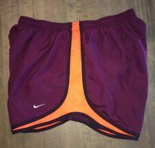 Womens sz XL Nike Dri Fit Tempo Running Lined Shorts