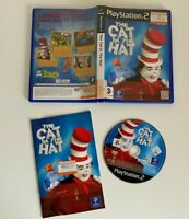 Ps2 The Cat In The Hat - Complete - VGC - Free P&P