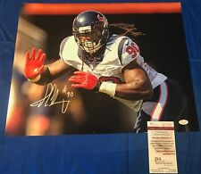 Jadeveon Clowney Hand Signed 16x20 Photo JSA COA Houston Texans