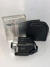Vintage BENTLEY B-3 Super 8 Movie Camera w/ Pouch, Manual & Box - C