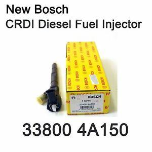 New 33800 4A150 Bosch OEM WGT Diesel Fuel Injector for Hyundai Kia Sorento Euro3
