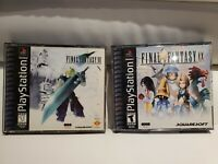 Final Fantasy VII 7 & Final Fantasy IX 9 (PS1, Playstation)  Game Lot