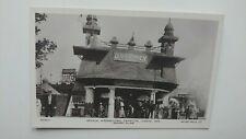 Imperial International Exhibition, Dahomey Village Real Photo Postcard