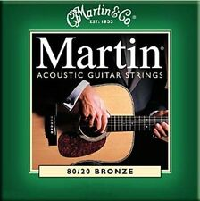 Martin M170 Acoustic Guitar Strings 80/20 Bronze Extra Light Gauge .010 - .047