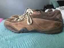 Sketchers Men's Leather Brown Casual Shoe SN 60371 Sz 11