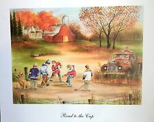 Philadelphia Flyer Dave The Hammer Schultz Road to Cup Print by Artist S Houston