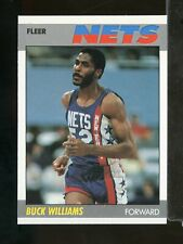 1987-88 Fleer Basketball BUCK WILLIAMS #120 New Jersey Nets (AY23)
