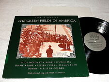 "The Green Fields of America ""Live In America"" 1989 Irish Folk LP, Nice EX!"