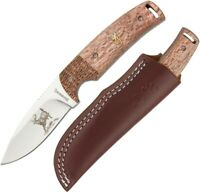 """Browning Buckmark Hunter 50 Year Fixed Knife 3"""" Stainless Blade Wood Handle"""