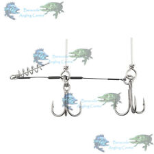 DRAGON STINGERS WITH CORKSCREW FOR BIG SOFT BAITS