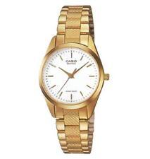 Relojes de pulsera Clásico de acero inoxidable dorado de acero inoxidable dorado
