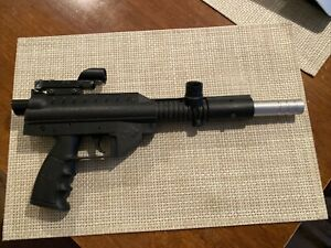 """Stingray Paintball Gun Black UNTESTED - Estate Find 18"""" Long Brass Eagle Rogers"""