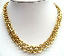 """Tone 32"""" Necklace! 6571F Stunning Vintage Estate Gold"""