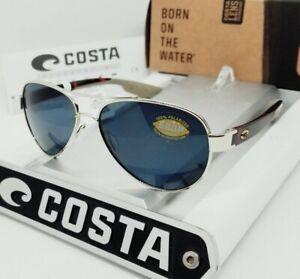 COSTA DEL MAR gold-tortoise/gray LORETO POLARIZED 580P sunglasses! NEW IN BOX!