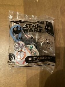 2019 McDonalds Happy Meal Toys STAR WARS Rise of Skywalker #4 BB-8 and D-O@