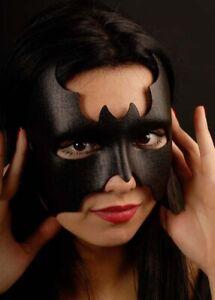Black Bat Girl Superhero Fancy Dress Eyemask