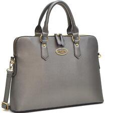New Womens Handbags Leather Briefcase Business Work Satchels Laptop Bag Purse