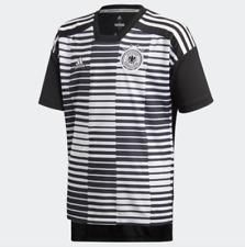 Adidas Germany Soccer Prematch Shirt Jersey Climalite Cf2448 Youth Boys M L Xl