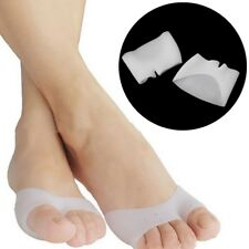 Silicone Insoles Gel Pad Protectors Foot Care Corrector Toe Separators Cap Cover