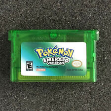 Hot Pokemon Games Card Emerald Versions for Pokemon GBA GameBoy Kids Adult Gift