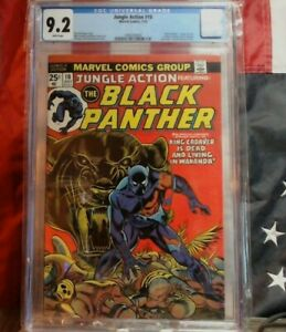 Jungle Action #10 CBCS 9.2 Kane, Black Panther, 1st King Cadaver, Baron Macabre