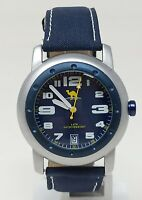 Orologio Camel men's watch 41 mm clock time and date montre water resist 5 atm