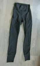 lululemon black size 2 UK 6 black leggings