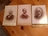Antique Cabinet Card Photos - Pennsylvania Photography shops -1890-1920 (3)