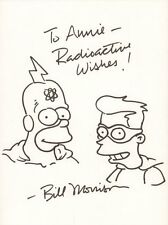 Radioactive Man and Fallout Boy from The Simpsons - Signed art by Bill Morrison Comic Art
