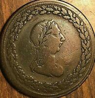 1812 LOWER CANADA TIFFIN HALF PENNY TOKEN