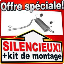 Silencieux Arriere FIAT PANDA (169) 1.2 4x4 aussi Van échappement AJH
