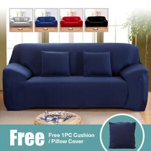Housse de Canapé chaise Couverture extensible 1/2/3/4 place Protecteur Sofa