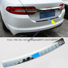 for Jaguar XF 2008-15 stainless steel Outer Rear Bumper Protector Sill trim 1PCS