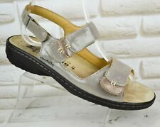 MEPHISTO GETHA Air-Relax Womens Leather Sandals Comfort Shoes Size 7 UK 41 EU