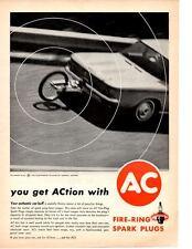 1962 CHEVROLET CORVAIR ~ ORIGINAL AC SPARK PLUG AD